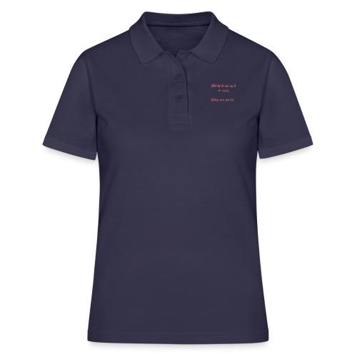 The T shirt of glory - Women's Polo Shirt