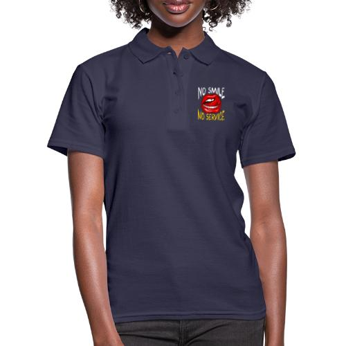 No Smile No Service - Women's Polo Shirt