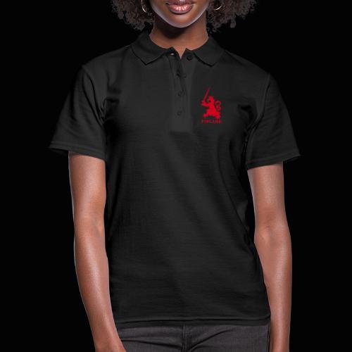 red jellona finland - Women's Polo Shirt