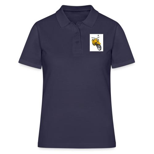 Die Schwalbenfahrer-Tasse (gelb) - Frauen Polo Shirt