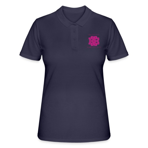 EX EQUO Arts & Crafts Bordeaux - Women's Polo Shirt