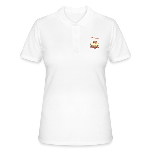 I want a cake - Women's Polo Shirt