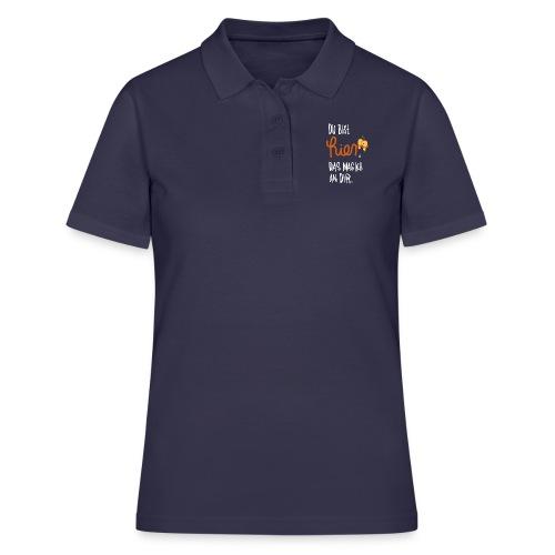 Ich mag Dich Sprüche - Frauen Polo Shirt
