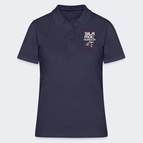 Męska Koszulka Premium TheWolf - Women's Polo Shirt