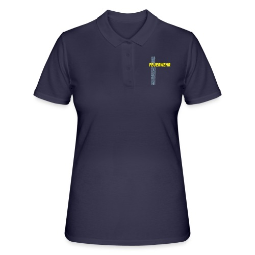 Feuerwehr Shirt mit deinem eigenen Stadtnamen - Frauen Polo Shirt