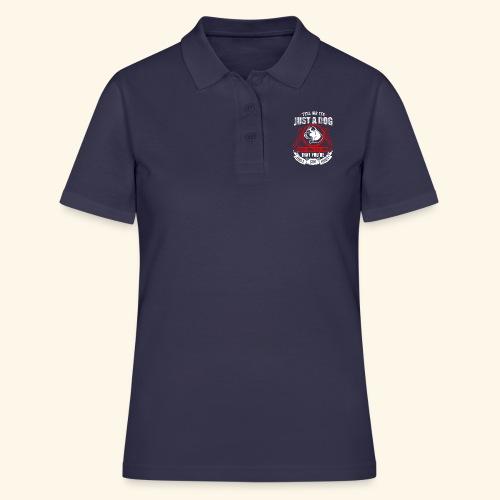 Liebe meinen Hund T-Shirt Englisch - Frauen Polo Shirt