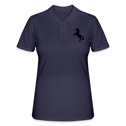 Pferd steigend - Frauen Polo Shirt