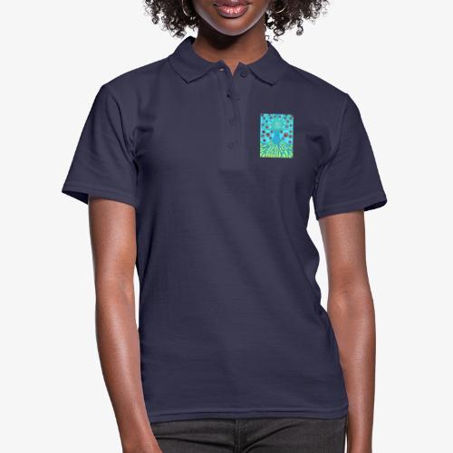 Drzewo I Planety - Koszulka polo damska