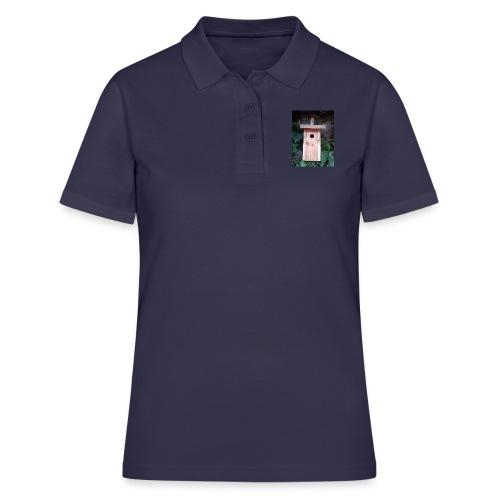 Der Nistkasten - Luxus für den Garten-Vogel - Frauen Polo Shirt