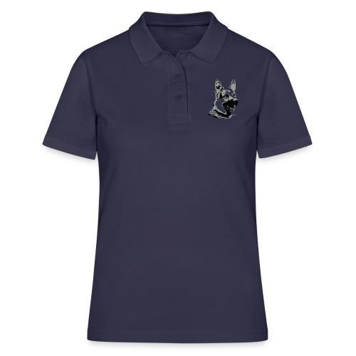 Dessin Chien Berger allemand 2 couleurs - Women's Polo Shirt