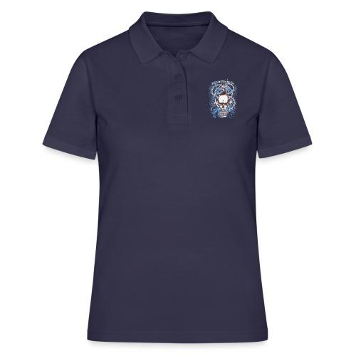 Skull Anker Design Art - Frauen Polo Shirt