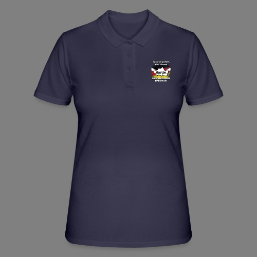 Perfekt Berlin - Frauen Polo Shirt