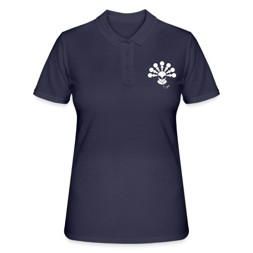 The Smoking Alien White - Women's Polo Shirt