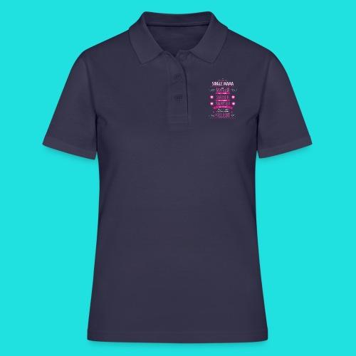 Single Mama - Frauen Polo Shirt