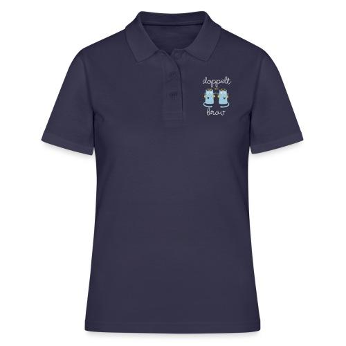 Zwillinge: Doppelt brav - Frauen Polo Shirt