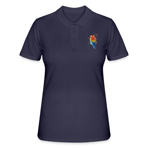 Parrot Watercolors Nadia Luongo - Women's Polo Shirt