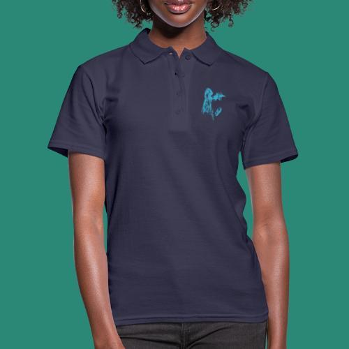 kopfloser blau - Frauen Polo Shirt