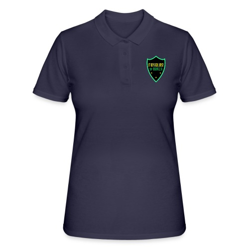 FAVELAS OF BRAZIL NOIR VERT DESIGN - Women's Polo Shirt