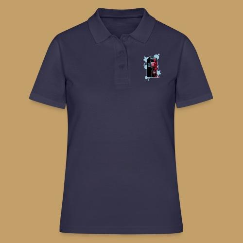 Hi-Score Blue - Koszulka polo damska