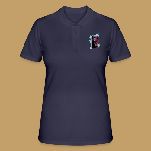 Hi-Score Silver X-ray - Koszulka polo damska
