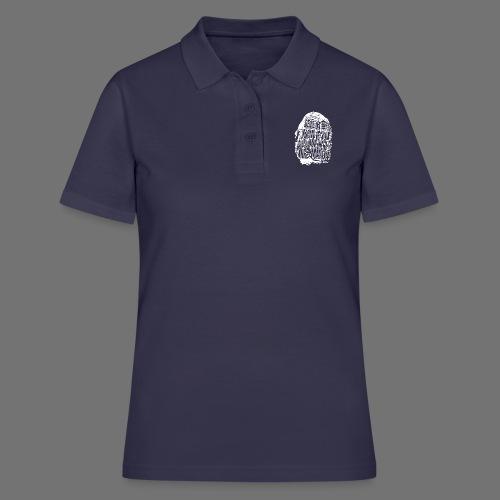 Fingerprint DNA (white) - Women's Polo Shirt