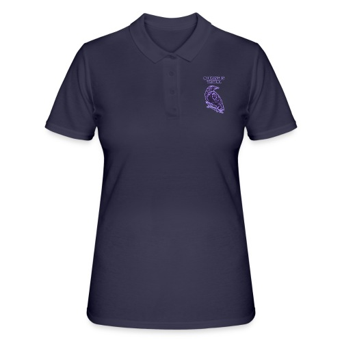 Lilac Crow - Nothing is Trivial - Women's Polo Shirt