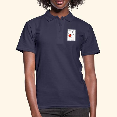 Au secours ! Mes parents sont sourds !! - Women's Polo Shirt