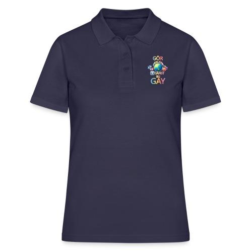 Gör Världen En Tjänst, Bli Gay LBGTQ+ - Women's Polo Shirt