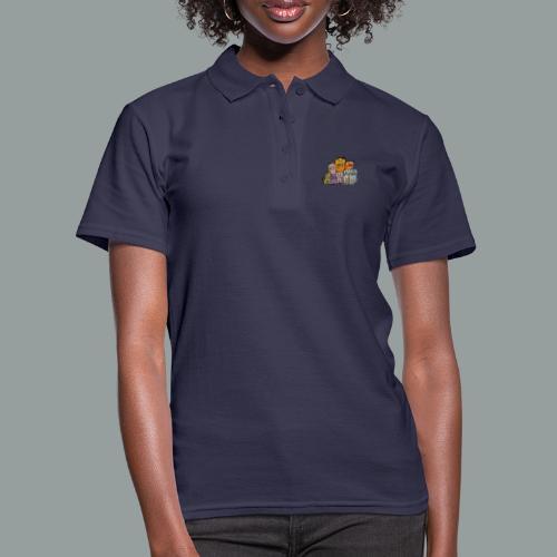 Katzenbande - Frauen Polo Shirt