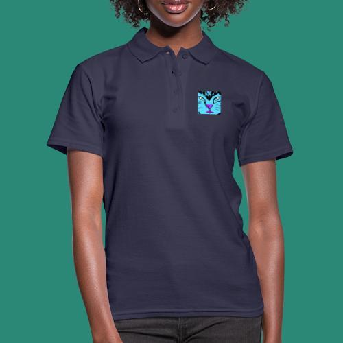 Der blaue Kater - Frauen Polo Shirt