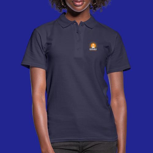 final white con scritta CORRETTO - Women's Polo Shirt