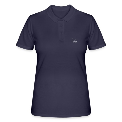 KYCK - element navy - Frauen Polo Shirt
