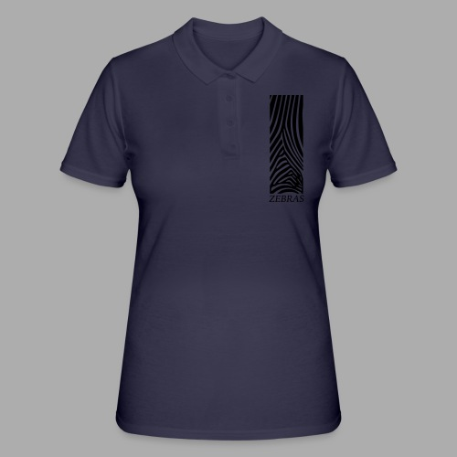 zebras - Women's Polo Shirt