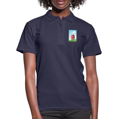 Feuerwehrwagen - Frauen Polo Shirt