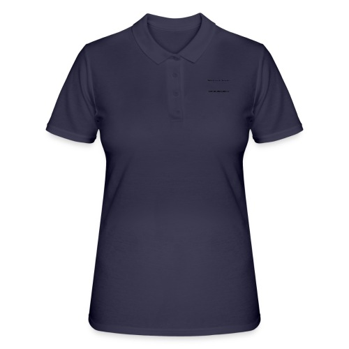 The_beauty_of_me_is_that_Im_very_rich - Women's Polo Shirt