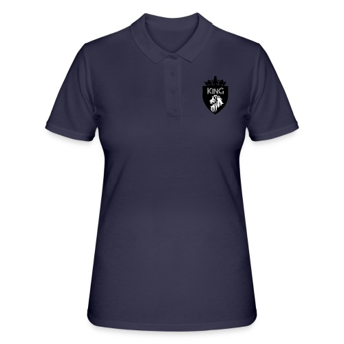 king - Frauen Polo Shirt