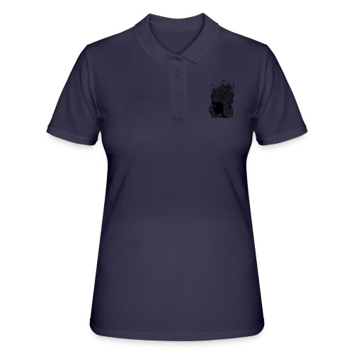 Flower portrait - Women's Polo Shirt