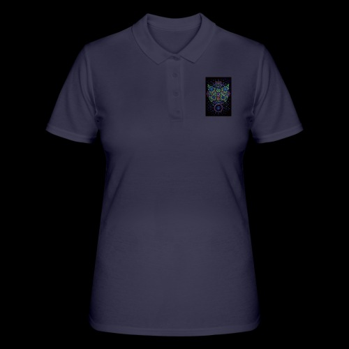 psychedelisch, psy, Dope, Goa, Farbig - Frauen Polo Shirt