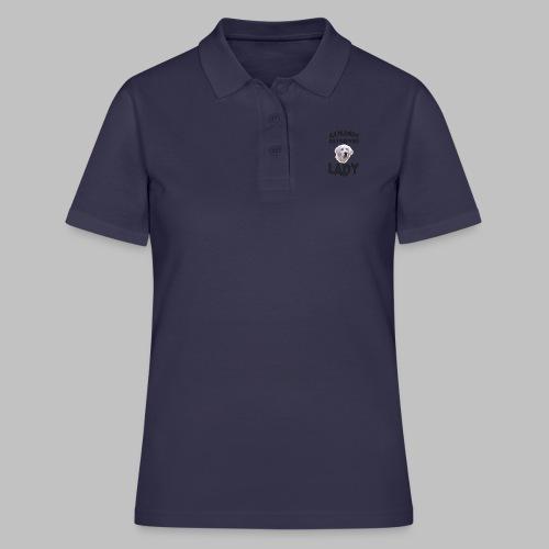 GOLDEN RETRIEVER LADY - Hundekopf - Frauen Polo Shirt