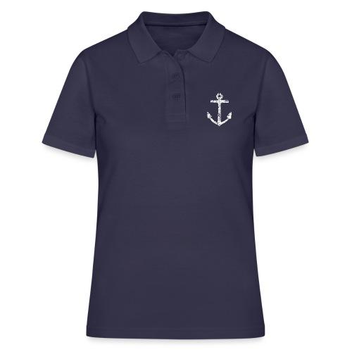 Anker Segel Segler Segelboot - Frauen Polo Shirt