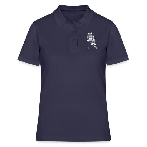 Language of Hockey (White) - Women's Polo Shirt