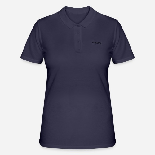 Kleines #Leqit - Frauen Polo Shirt