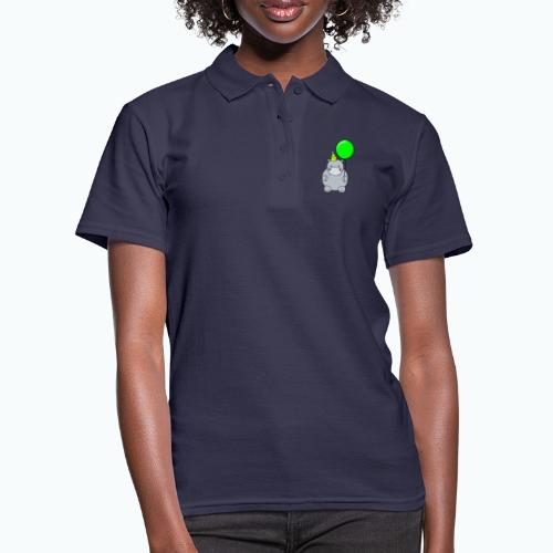 Henri Hippo Party - Appelsin - Women's Polo Shirt