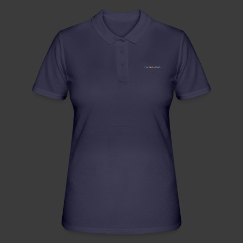 rainbow for dark background - Women's Polo Shirt
