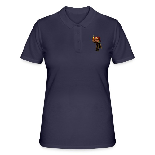 MineKnight BackPack BP - Women's Polo Shirt