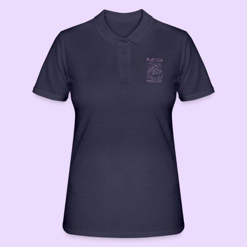 vegan cat - Women's Polo Shirt