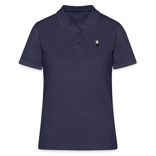 petit logo rose emflammé - Women's Polo Shirt