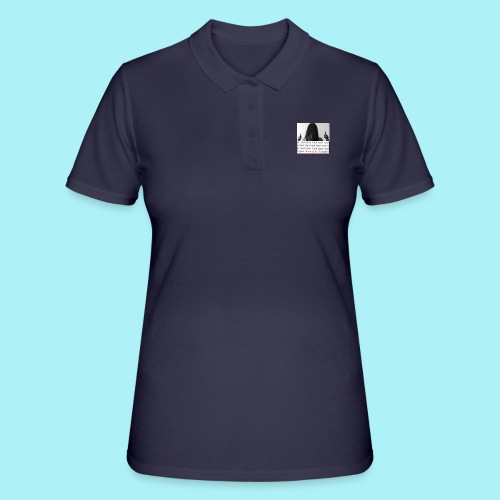 Never give up - Polo Femme