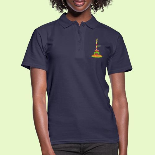DIE Siegessäule / BerlinLightShow / PopArt - Frauen Polo Shirt