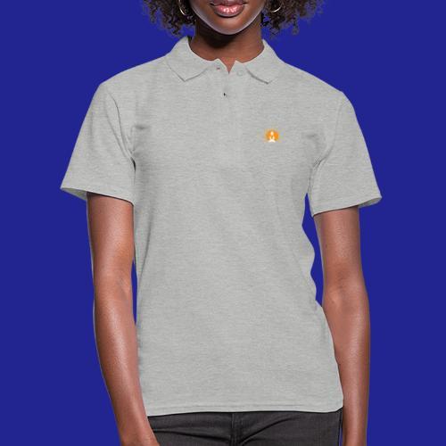 Guramylyfe logo white no text - Women's Polo Shirt